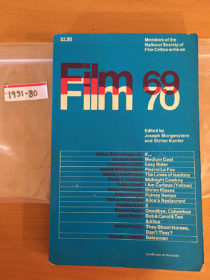Members of the National Society of Film Critics Write on Film 69-70 (1st Printing, 1969) [193180]