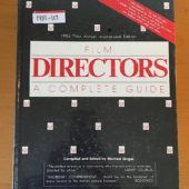 Film Directors: A Complete Guide (1985)