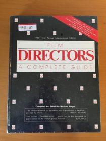 Film Directors: A Complete Guide (1985)