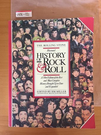 The Rolling Stone Illustrated History of Rock & Roll Paperback (1980)