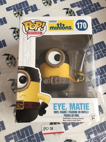 Funko Pop Minions Eye, Matie Vinyl Figure #170