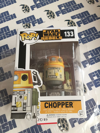 Funko POP Star Wars Rebels Chopper Vinyl Bobble-Head Figure #133