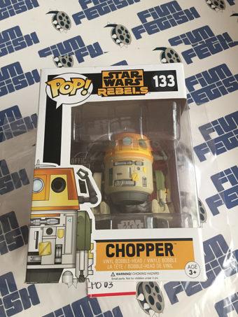 Funko POP Star Wars Rebels Chopper Vinyl Bobble-Head Figure #133