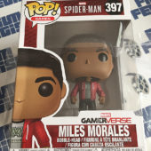 Funko POP Marvel Gamerverse Spider-Man Miles Morales Bobble-Head Vinyl Figure #397