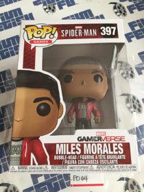 Funko POP Marvel Gamerverse Spider-Man Miles Morales Bobble-Head Vinyl Figure #397