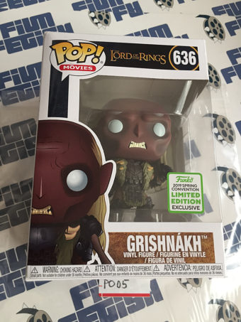 Funko POP The Lord of the Rings Grishnakh Vinyl Figure 2019 Convention Limited Edition 636