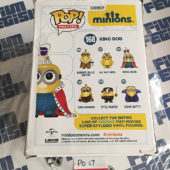Funko POP Minions King Bob Vinyl Figure 168