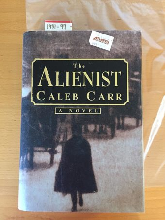 The Alienist by Caleb Carr Hardcover 1st Edition (1994) [193197]