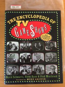 The Encyclopedia of TV Game Shows: Completely Updated 3rd Edition Hardcover (1999)