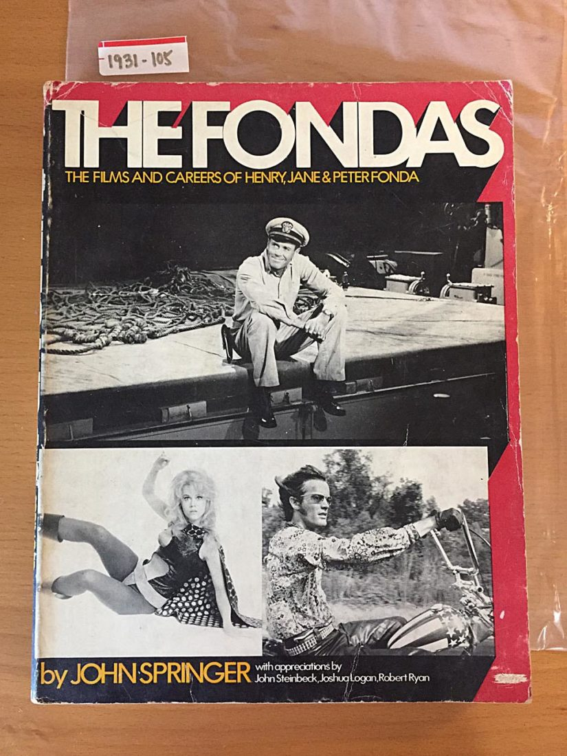 The Fondas: The Films and Careers of Henry, Jane and Peter Fonda (1973)
