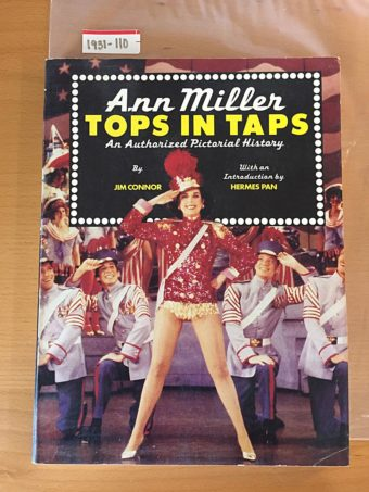 Ann Miller, Tops in Taps: An Authorized Pictorial History (1981)