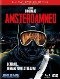 Amsterdamned Blu-ray + DVD Combo Collector's Limited Edition (2017)