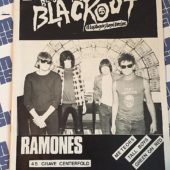 Beyond the Blackout Fanzine #3 Punk Magazine The Ramones