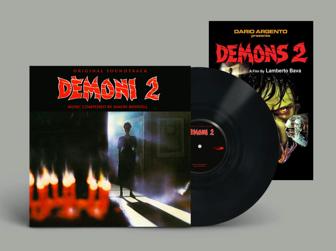 Demons 2 Original Soundtrack Limited Vinyl Edition