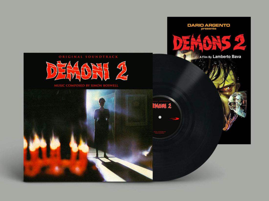 Demons 2 Original Soundtrack Limited Vinyl Edition