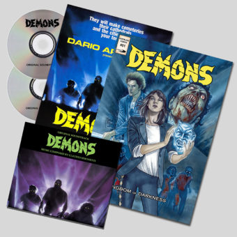 Demons Soundtrack Special Limited Edition Double CD + Comic Book + Poster