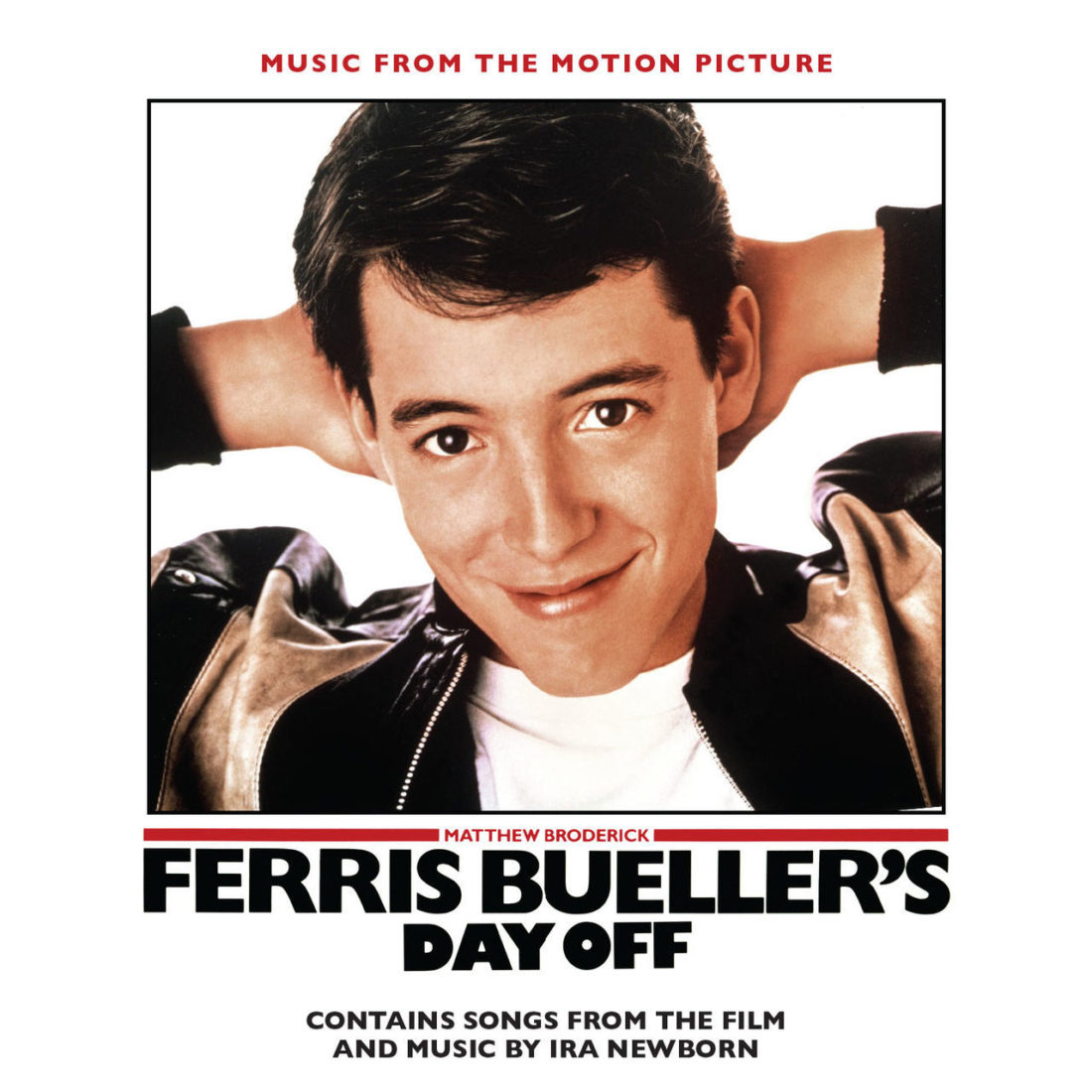 Ferris Bueller's Day Off Motion Picture Soundtrack Limited Edition