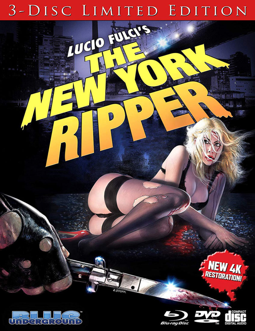 The New York Ripper Special 3-Disc Limited Edition