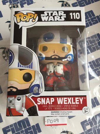 Funko POP Star Wars Snap Wexley Vinyl Bobble-Head Figure 110