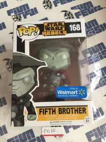 Funko POP Star Wars Rebels Fifth Brother Vinyl Bobble-Head Exclusive 168