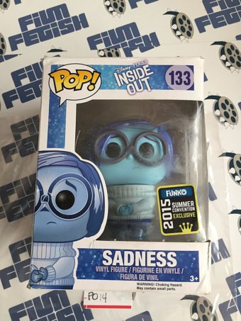 Funko POP Disney Inside Out Sadness Vinyl Figure 133