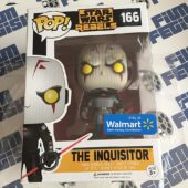 Funko POP Star Wars Rebels The Inquisitor Vinyl Bobble-Head Exclusive Figure 166