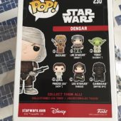 Funko POP Star Wars Dengar New York Comic Con Exclusive 2017 Vinyl Figure 230