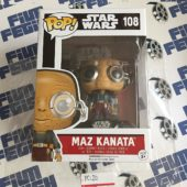 Funko POP Star Wars: Episode 7: The Force Awakens Maz Kanata Vinyl Bobble-Head Figure #108