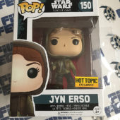 Funko POP Star Wars: Rogue One Jyn Erso EXCLUSIVE Vinyl Bobble-Head #150