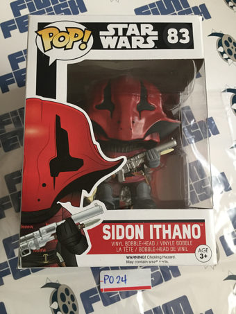 Funko POP Star Wars: The Force Awakens Sidon Ithano Vinyl Bobble-Head Figure #83