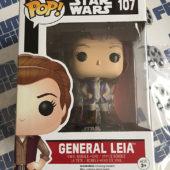 Funko POP Star Wars: The Force Awakens General Leia Vinyl Bobble-Head Figure #107