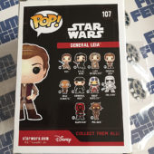 Funko POP Star Wars: The Force Awakens General Leia Vinyl Bobble-Head Figure #107