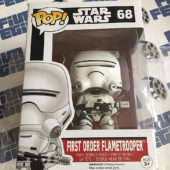 Funko POP Star Wars: The Force Awakens First Order Flametrooper Vinyl Bobble-Head Figure #68