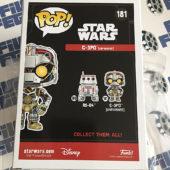 Funko POP Star Wars Unfinished C-3PO Exclusive Bobble-Head Figure #181