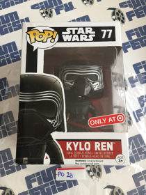 Funko POP Star Wars: The Force Awakens Kylo Ren Exclusive Vinyl Bobble-Head Figure #77