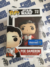 Funko POP Star Wars: The Force Awakens Poe Dameron Exclusive Vinyl Bobble-Head Figure #72