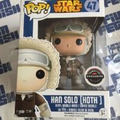 Funko POP Star Wars: The Empire Strikes Back Han Solo Exclusive Vinyl Bobble-Head Figure #47