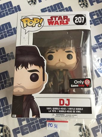 Funko POP Star Wars DJ Exclusive Vinyl Bobble-Head Figure #207