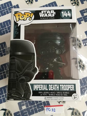 Funko POP Rogue One: A Star Wars Story Imperial Death Trooper Vinyl Bobble-Head Figure #144