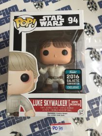Funko POP Star Wars Luke Skywalker Bespin Encounter Exclusive Vinyl Bobble-Head #94