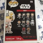 Funko POP Star Wars: The Force Awakens Rey Exclusive Vinyl Bobble-Head #119