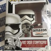 Funko POP Star Wars: The Force Awakens First Order Stormtrooper Exclusive Vinyl Bobble-Head #74
