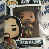Funko POP Star Wars Rogue One Baze Malbus Vinyl Bobble-Head #141