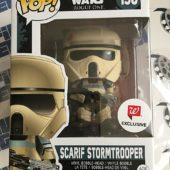Funko POP Star Wars Rogue One Scarif Stormtrooper Exclusive Vinyl Bobble-Head #156