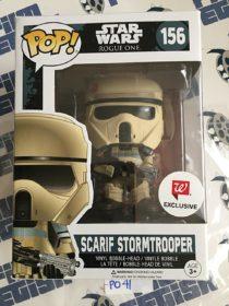 Funko POP Star Wars Rogue One Scarif Stormtrooper Exclusive Vinyl Bobble-Head #156