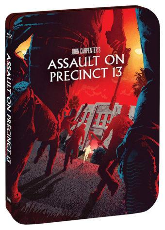 John Carpenter's Assault On Precinct 13 Limited Edition Steelbook Blu-ray