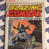 Blazing Combat #4 Warren Magazine, Frank Frazetta Cover, Wally Wood, Gray Morrow (1966) [8805]
