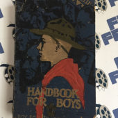 Boy Scouts of America Manual Handbook For Boys (1936 Edition)