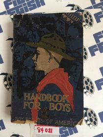 Boy Scouts of America Manual Handbook For Boys (1936 Edition)