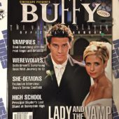 Cinescape Buffy The Vampire Slayer 1999 Official Yearbook, Sarah Michelle Gellar, David Boreanz